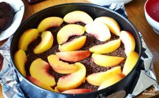 Персиковый торт-суфле - фото шаг 8