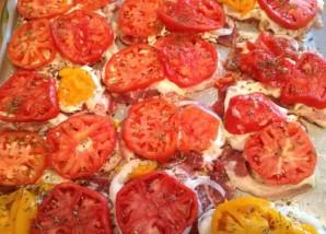 Эскалопы из свинины с овощами и сыром - фото шаг 5