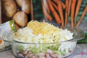 Салат из копченой грудки - фото шаг 6