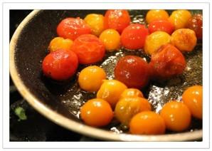 Теплый салат из топинамбура - фото шаг 4