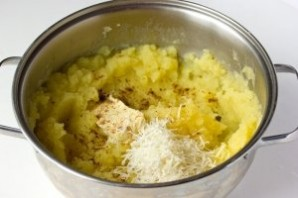 """Картофельное пюре с """"Пармезаном"""" - фото шаг 2"""