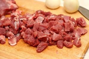 Мясо в армянском лаваше - фото шаг 1