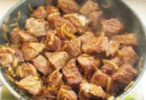 Мясо с фасолью консервированной - фото шаг 4