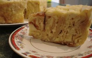 Пирог из лаваша с творогом - фото шаг 5