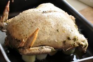 Куриная кожа, фаршированная куриным фаршем - фото шаг 14