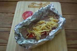 Грудка с помидорами в духовке - фото шаг 4