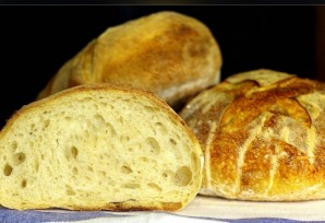Большой круглый хлеб - фото шаг 8
