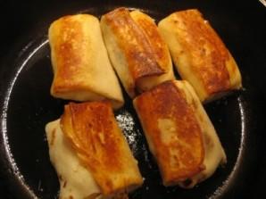 Блинчики с картошкой и луком - фото шаг 4