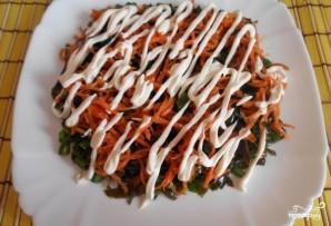 Салат из морской капусты с морковью - фото шаг 7