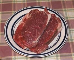 Жареный ломоть говядины - фото шаг 1
