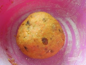 Морковное печенье с овсяными хлопьями - фото шаг 7