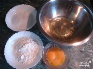 Воздушное бисквитное тесто - фото шаг 1