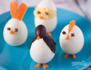 Пасхальные яйца для праздничного стола - фото шаг 5