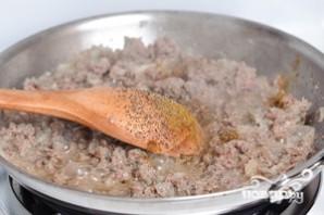 Блинчики, фаршированные мясом - фото шаг 4