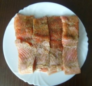 Рыба в мультиварке - фото шаг 2