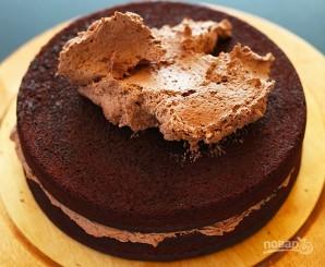 Вегетарианский шоколадный торт - фото шаг 2