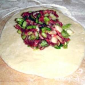 Пян-се (паровые пирожки) - фото шаг 3