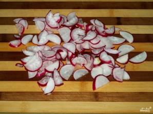 Салат с фасолью - фото шаг 5