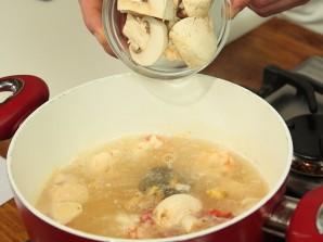 Тайский суп с креветками - фото шаг 5