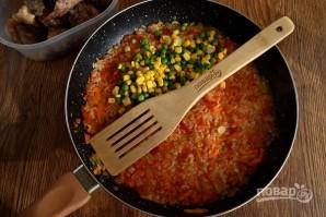Курица с рисом и овощами по-каталонски - фото шаг 6