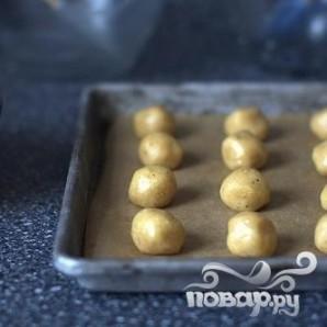 Печенье с шоколадом и лесными орехами - фото шаг 3