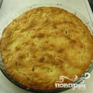 Капустный пирог из дрожжевого, заварного теста - фото шаг 5