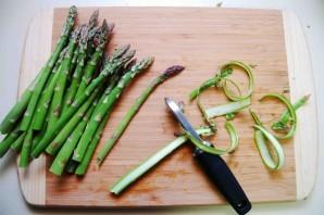 Салат овощной с ветчиной - фото шаг 1