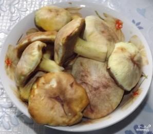 Солянка грибная на зиму с томатной пастой - фото шаг 1