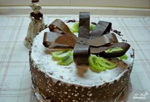 Торт с бантом - фото шаг 5