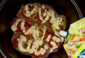 Куриная грудка с болгарским перцем - фото шаг 7