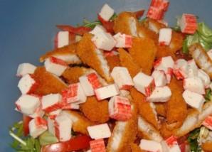 Простой салат с каперсами - фото шаг 5