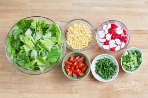 Салат из курицы с кукурузой - фото шаг 2