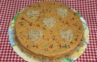 Торт со сгущенным молоком - фото шаг 4