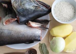 Рыбный суп из кижуча - фото шаг 1