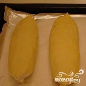 Кулебяка из слоеного теста с капустой - фото шаг 4