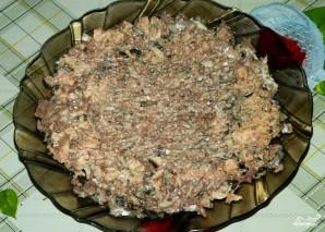 Рыбный салат из консервов с рисом - фото шаг 5