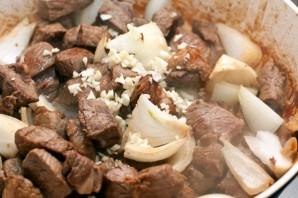 Жареная баранина с картошкой   - фото шаг 3