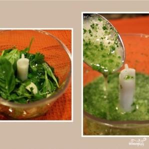 Теплый салат из топинамбура - фото шаг 3