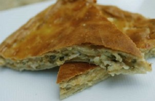 Пирог с зеленью и сыром - фото шаг 7