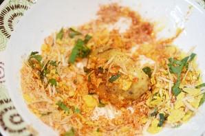 Деревенский картофель под сырным соусом - фото шаг 5