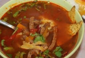 Мексиканский фасолевый суп - фото шаг 10