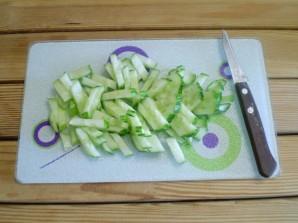 Салат к макаронам - фото шаг 2