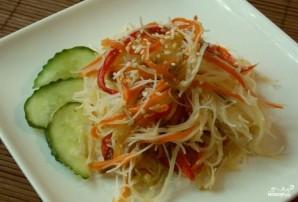 Салат из рисовой лапши по-корейски - фото шаг 7