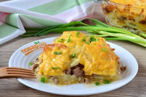 Картофельный гратен с мясом - фото шаг 11