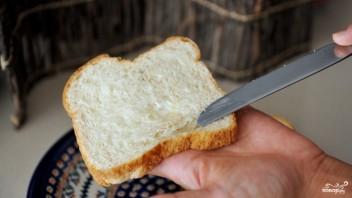Бутерброд с яичницей - фото шаг 1