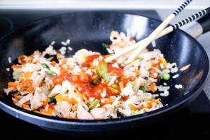 Омлет с рисом по-японски - фото шаг 5