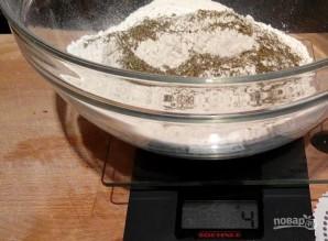 Тонкое тесто для пиццы без дрожжей - фото шаг 3