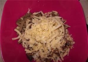 Салат из печени с ананасом - фото шаг 5