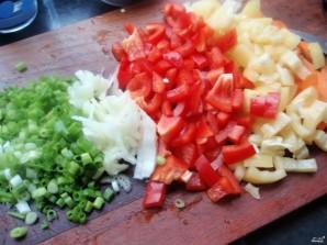 Постный плов с овощами - фото шаг 1