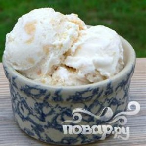 Мороженое с фруктами - фото шаг 2